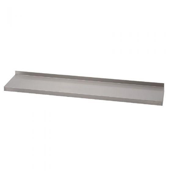 Wandplank Diepte 40 Cm.Rvs Wandplank Met Opstand 140 X 40 Gastro M Gastrohome