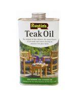 Teakolie voor onderhoud aan uw tuinmeubelen