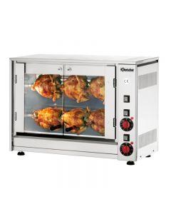 Kippengrill voor 6 kippen Bartscher P6