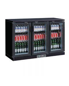 Barkoeling display met 3 klapdeuren t.b.v. 273 flessen