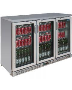 Display barkoelkast 3 deuren, 273 flessen