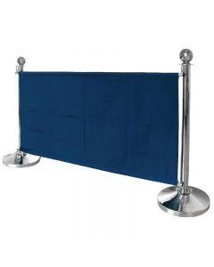 Afzetdoek blauw van Bolero 70 x 143 cm