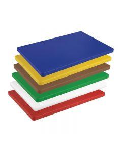 Snijplanken HACCP 450 x 300 x 20 mm in 6 kleuren