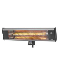Elektrische terrasverwarmer op standaard
