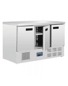 Compacte koelwerkbank 3 deuren Polar