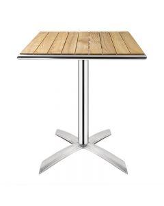 Bistrotafel opklapbaar vierkant