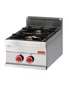 Gaskooktoestel 2 branders tafelmodel Gastro M 650 serie