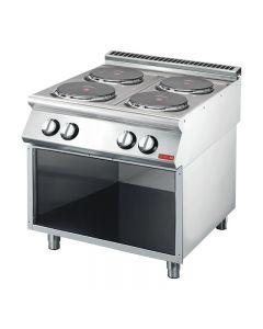Gastro M 700 plus elektrisch fornuis GM70/80PCE