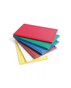 HACCP snijplanken met sapgeul in 6 kleuren