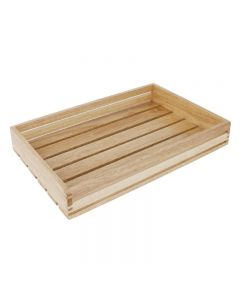 Houten krat voor brood of fruit