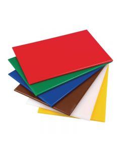 Snijplanken HACCP 450 x 300 x 12 mm 6 kleuren