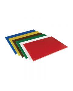 Snijplanken HDPE 600 x 450 x 12 mm in 6 kleuren