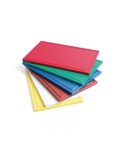 Snijplank met sapgeul GN 1/2 in 6 kleuren