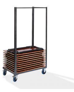 Examentafels trolley