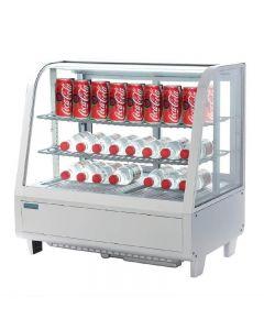 Tafelmodel koelvitrine Polar 100 liter