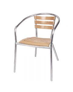 essenhouten stoel voor uw horeca terras van Bolero